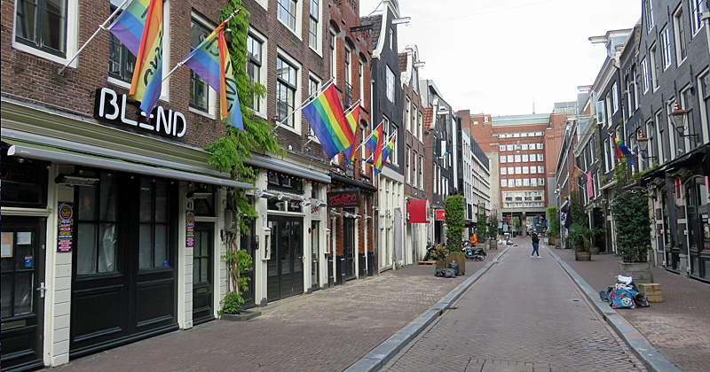 Closed gay venues in Reguliersdwarsstraat