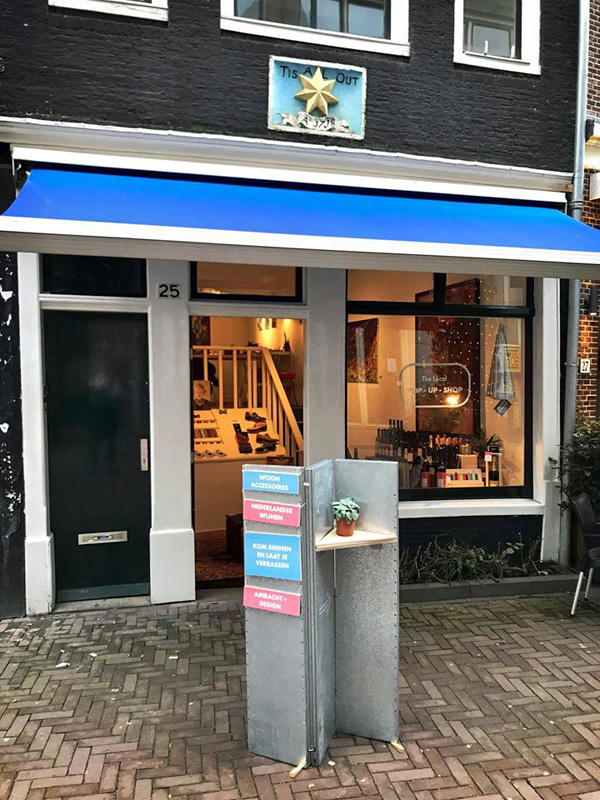 The Local Pop-Up Shop @ Reguliersdwarsstraat