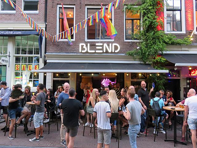 Bar BLEND in de Reguliersdwarsstraat